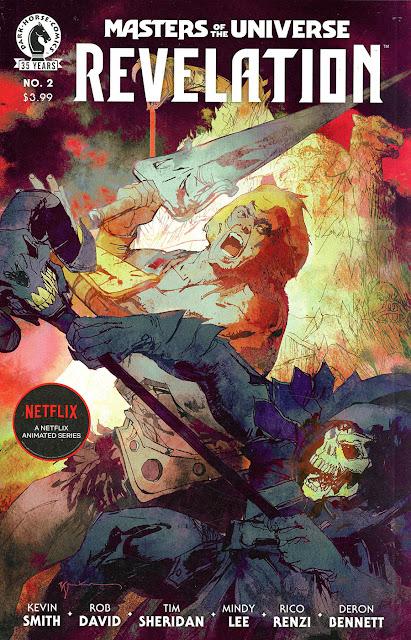 Masters of the universe Revelation, il secondo numero del fumetto prequel della serie Netflix