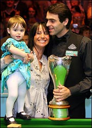 Ronnie O'Sullivan wife Jo Langley 2