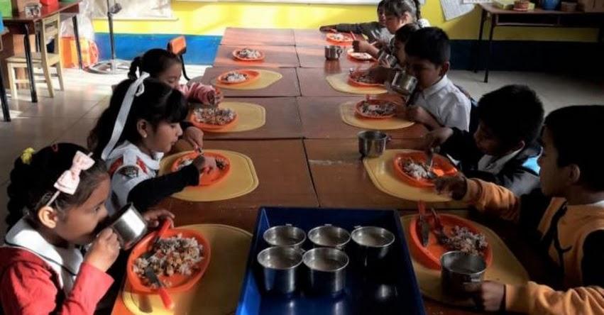 QALI WARMA: Programa social verifica provisión de agua segura para colegios en Pacora - www.qaliwarma.gob.pe