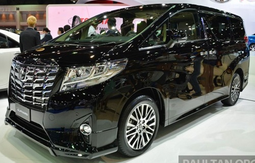Toyota New Alphard Hybrid Performance 2015