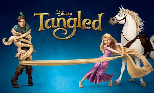 Tangled 2012 movie poster