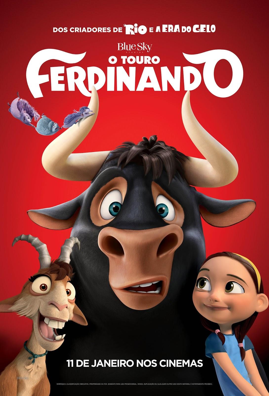 O Touro Ferdinando 2018 Dublado