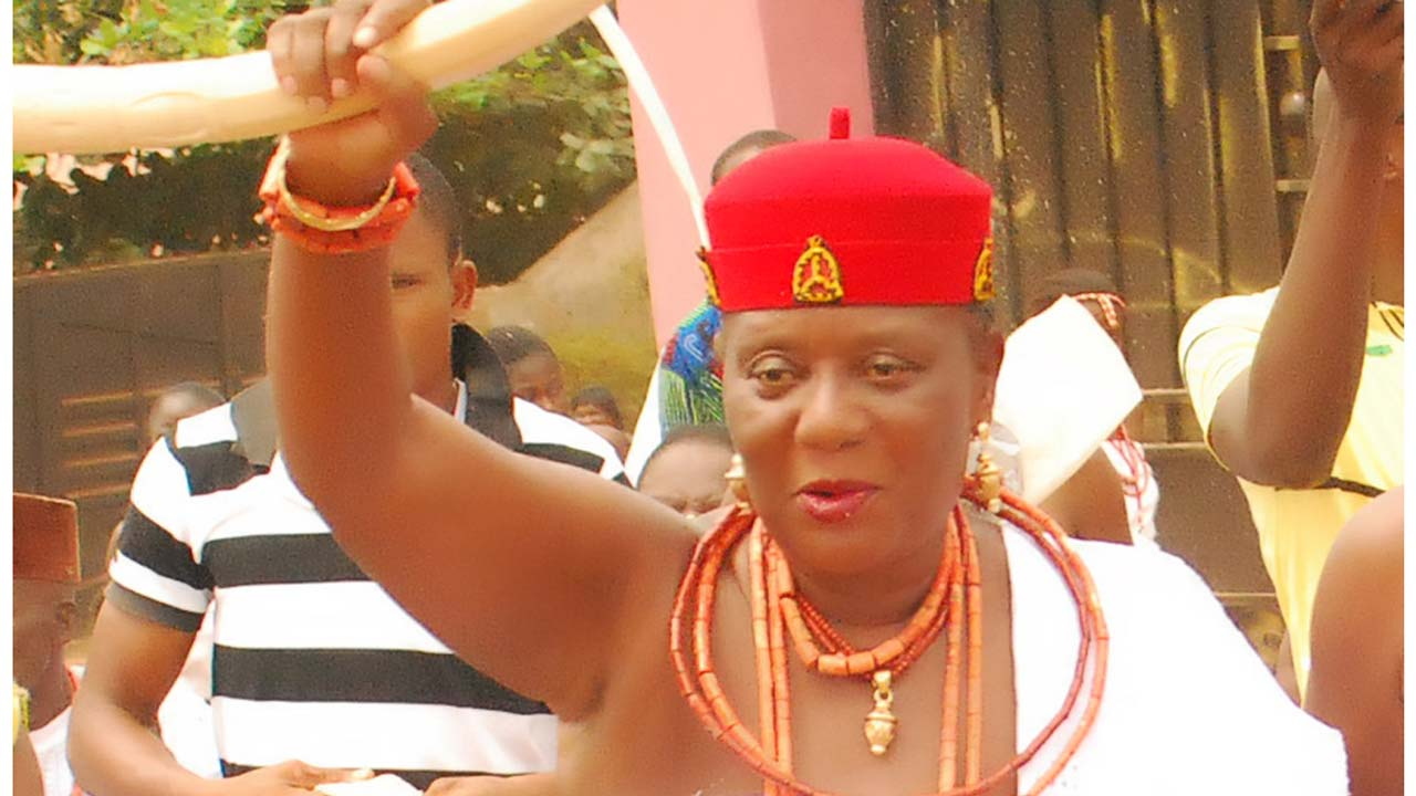 As Queen, I Can Only Marry A Woman - Dunkwu, Omu Of Anioma In Delta state