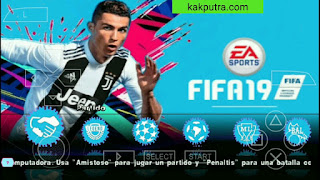 FIFA 19 PPSSPP Transfers Update & Best Graphics New Kits Face Offline di Android