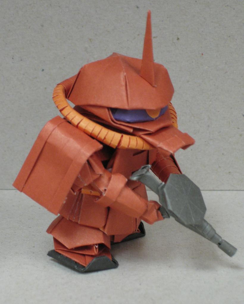 Gundam Inspired Origami Model
