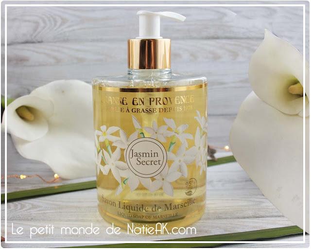 savon liquide de Marseille  Jeanne en Provence