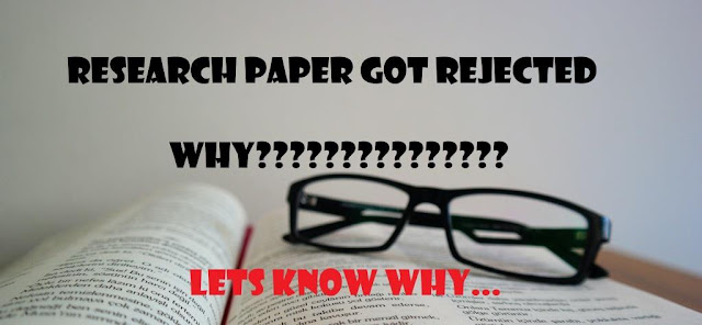 Top Reasons for Research Paper Rejection