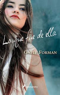 Lo que fue de ella 2, Gayle Forman