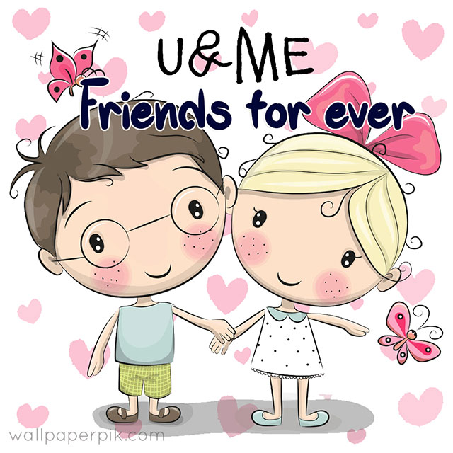 friendship day images with cartoon pics