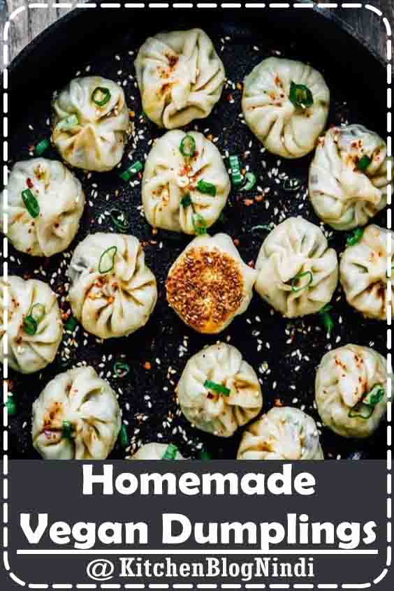 4.9★★★★★ | One more year has come and it is nearly time for Chinese Lunar New Year once more. In China, a standout amongst the most well known dishes around #Homemade #Vegan #Dumplings #vegetarian #vegan #homemade #food #breakfast