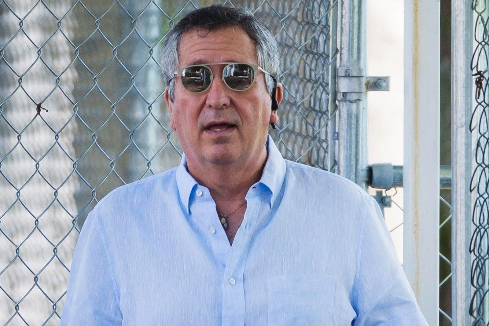 Jorge Vergara, dueño del Guadalajara.