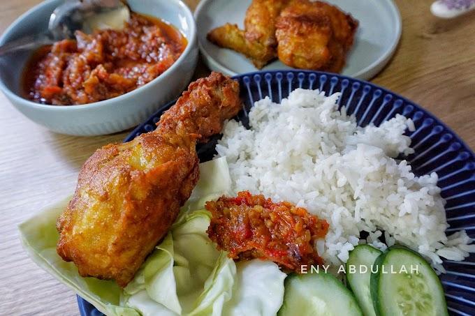 Resepi Ayam Penyet Dan Sambal Penyet Yang Mudah Tapi Sedap Sangat!