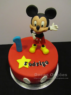 bolo mickey disney junior
