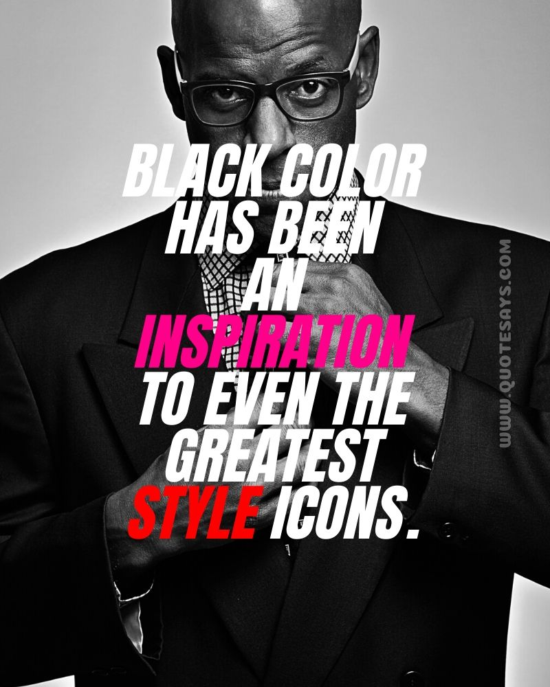Quotes for black colour