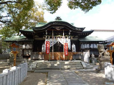 八王子神社拝殿