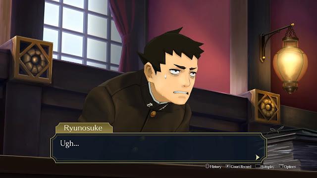 The Great Ace Attorney Chronicles Ryunosuke