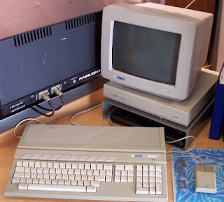 Imagen de un ordenador personal ATARI ST