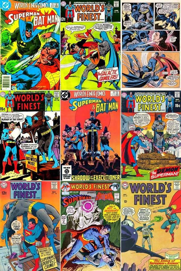 Todos los enfrentamientos donde gana Batman o Superman
