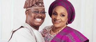 image result for senator abiola ajimobi wife florence