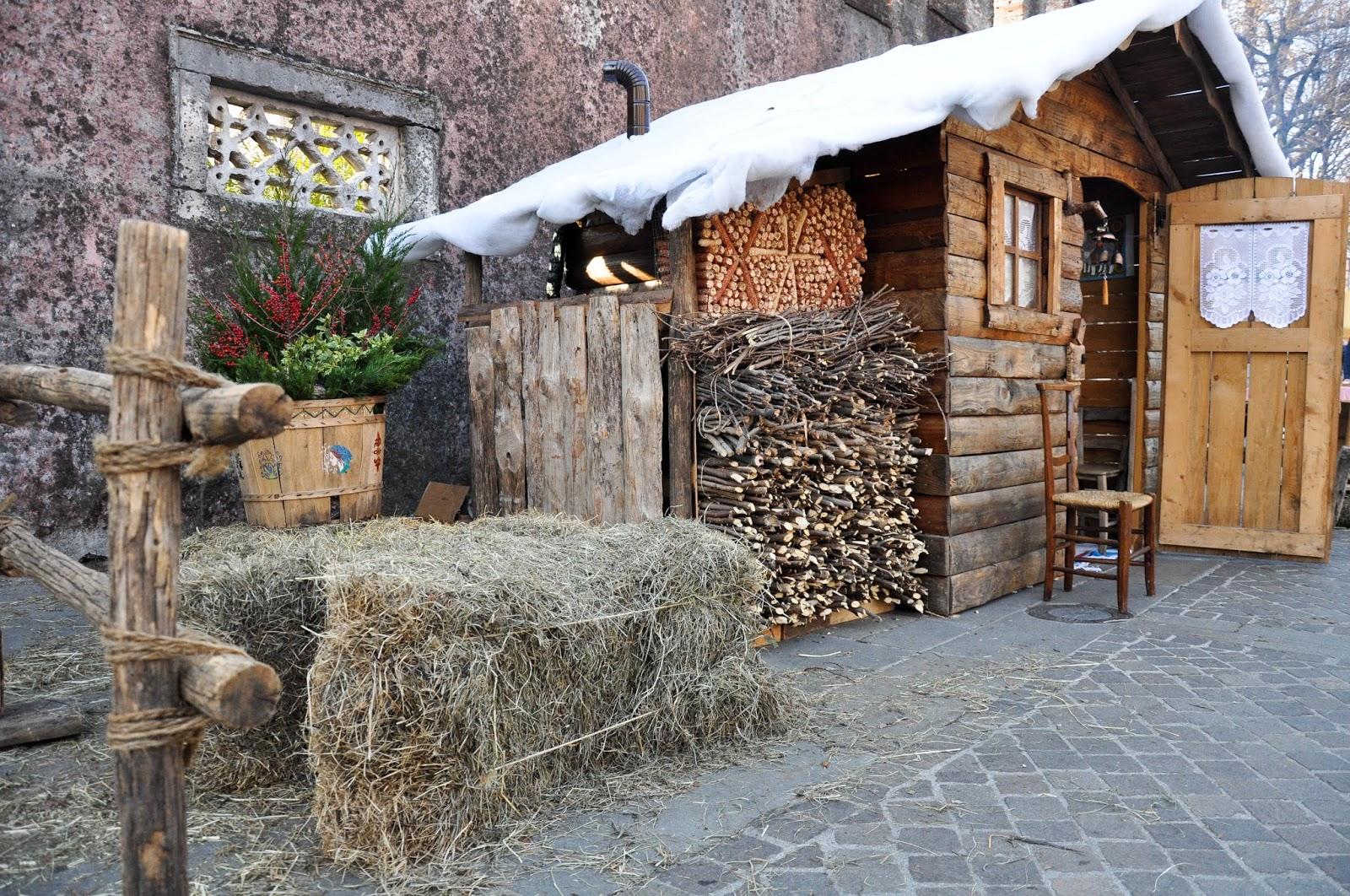 Alpine house, Natale di Fiaba 2015, Thiene, Italy