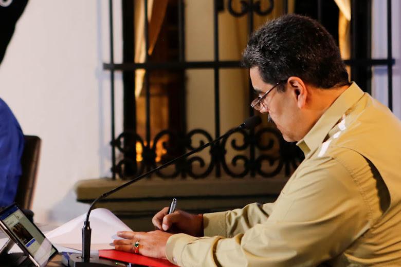el presidente Maduro, presento la Comisión Presidencial de la Gran Misión AgroVenezuela