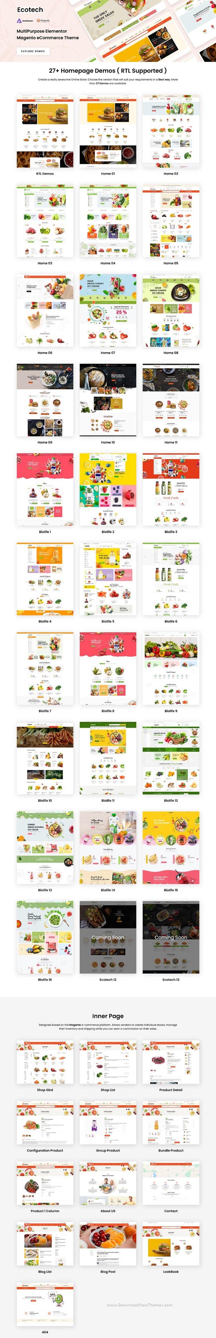 Fresh Food Magento 2 Theme