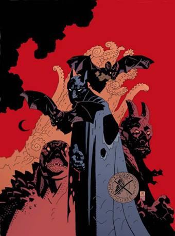 Un Batman Elseworlds dibujado por Mike Mignola
