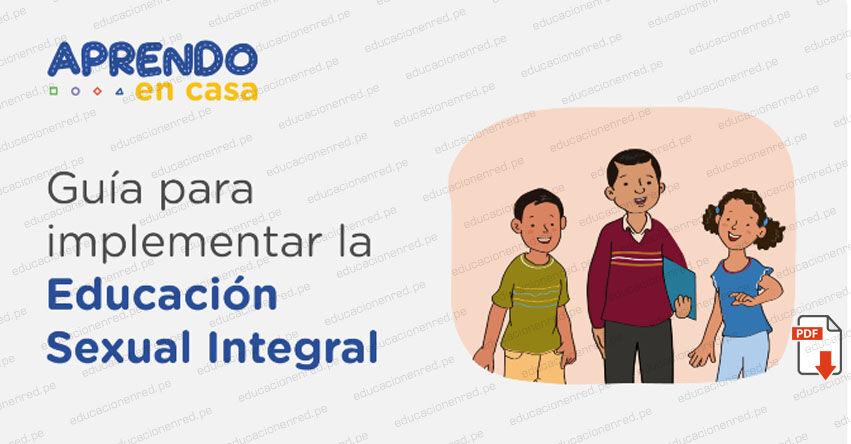 PERUEDUCA: Descarga la Guía para implementar la Educación Sexual Integral (.PDF)
