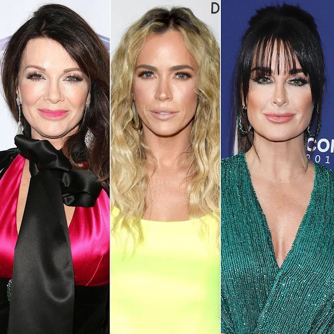 Kyle Richards Shares Sweet Message To Teddi Mellencamp Arroyave After 'RHOBH' Exit! Lisa Vanderpump Throws Shade At Teddi And Kyle!