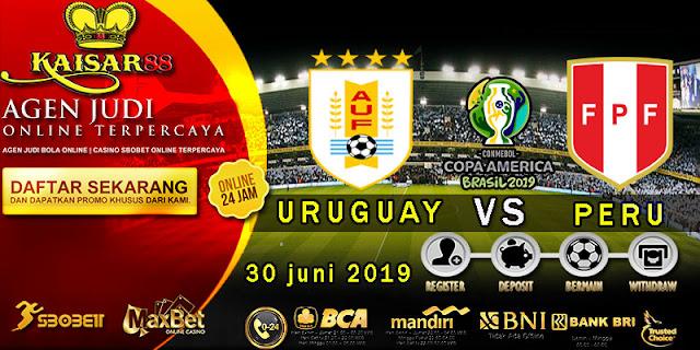 Prediksi Bola Terpercaya Liga Copa America Uruguay vs Peru 30 Juni 2019