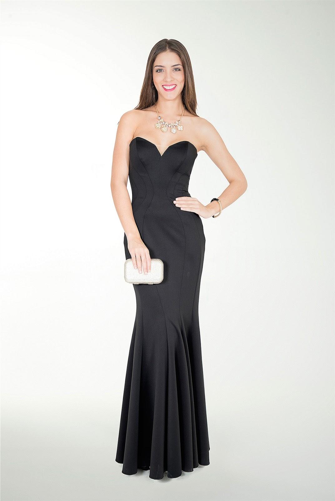 Vestido de gala mujer