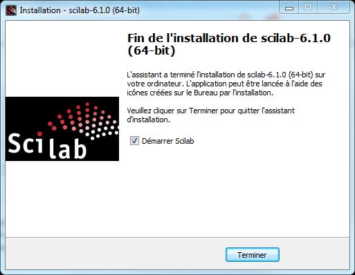 Scilab Install - Choix des modules 3/3