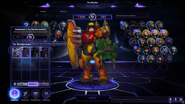 10 easter eggs de Heroes of the Storm - Morales Samus