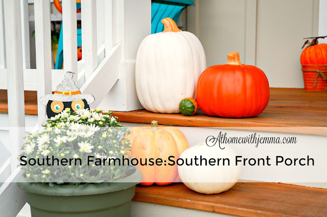 Athomewithjemma, decor, fall, southern, farmhouse