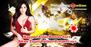 Ragam Jenis Bonus dari Situs Togel Online Terpercaya