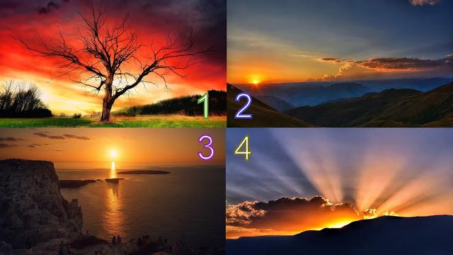 Гадание на Рассвет: выберите фотографию рассвета и читайте предсказание на следующую неделю