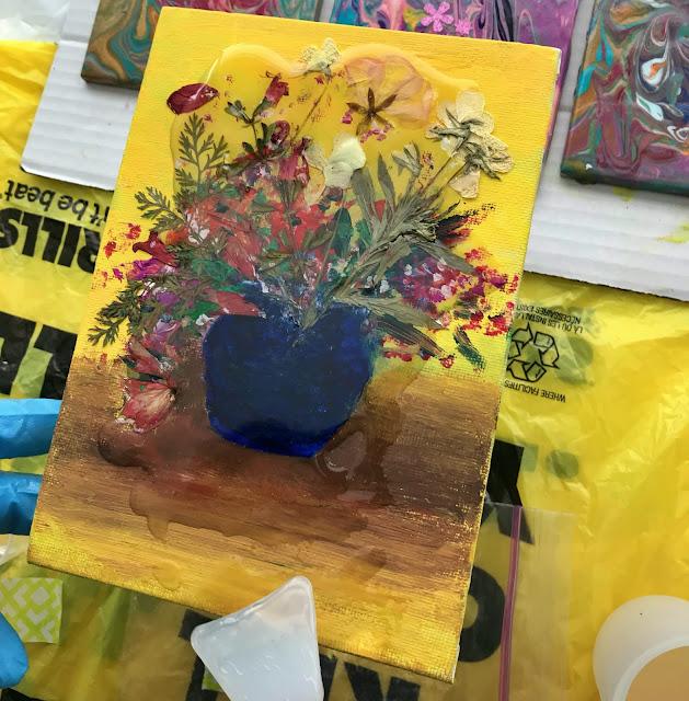 press flower epoxy resin