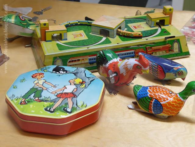 Toy Shop Museun Grundarfjördur Iceland Emil Kaffi Spring-Powered toys