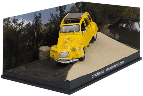 Citroën 2CV - For your eyes only 1:43 colección james bond
