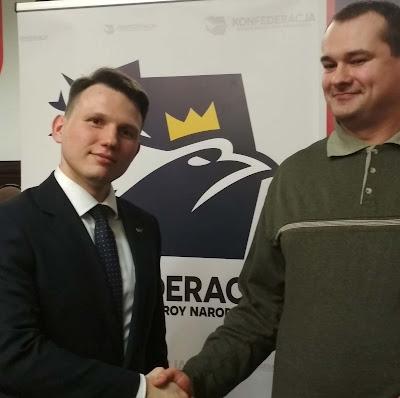 Piotr Marek i Sławomir Menzen w mieście Lublin