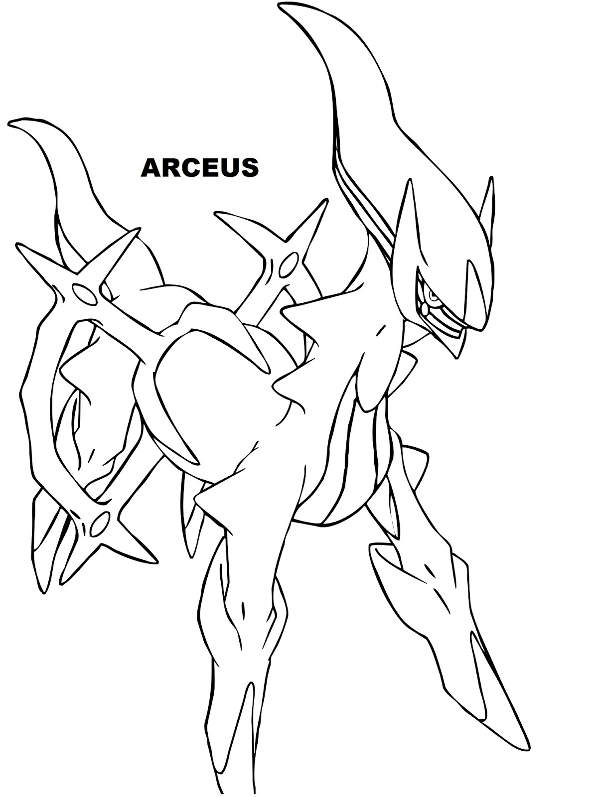 Free Legendary Pokemon Coloring Pages For Kids Legendary Coloring Page
