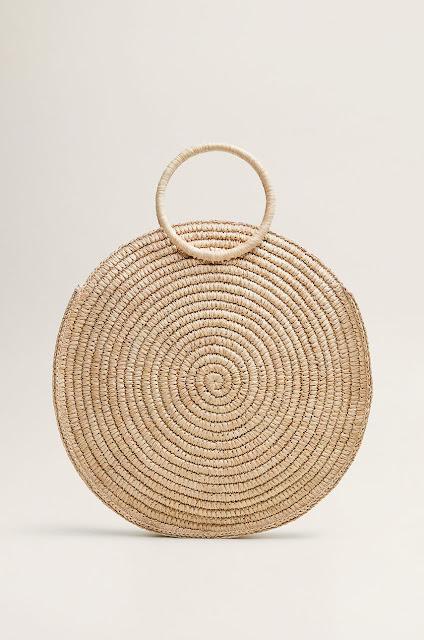 torba z rafii, rafia, torebka na lato