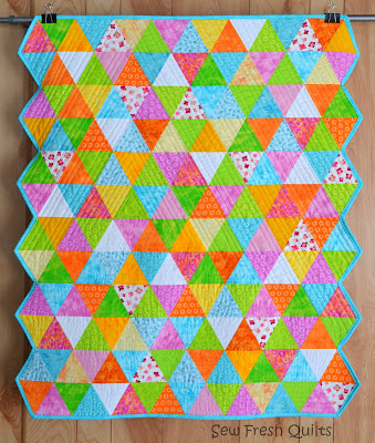 http://sewfreshquilts.blogspot.ca/2014/04/equilateral-triangle-quilt-finished.html