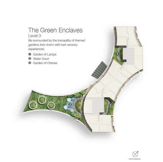 Duo Residences Green Enclaves Level 3 Plan