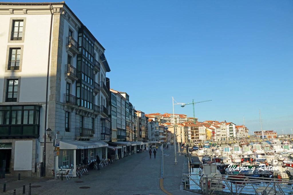 Paseo del puerto de Lekeitio