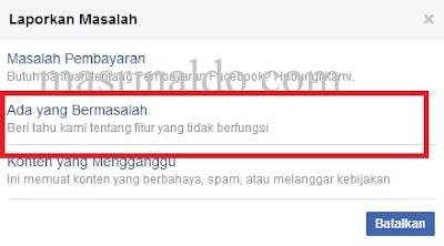 Ada Yang Bermasalah Untuk Mengatasi Blog Diblokir Facebook Mas Rinaldo