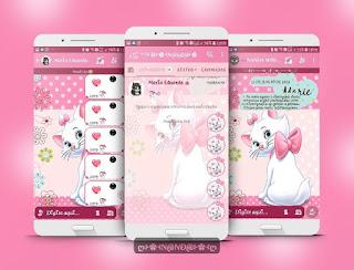 White Cat Theme For YOWhatsApp & Fouad WhatsApp By Nanda