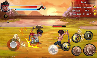Download Game King of Kungfu 2: Street Clash Apk Mod Terbaru