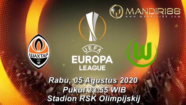 Prediksi Shaktar Donetsk Vs VfL Wolfsburg, Rabu 05 Agustus 2020 Pukul 23.55 WIB @ SCTV