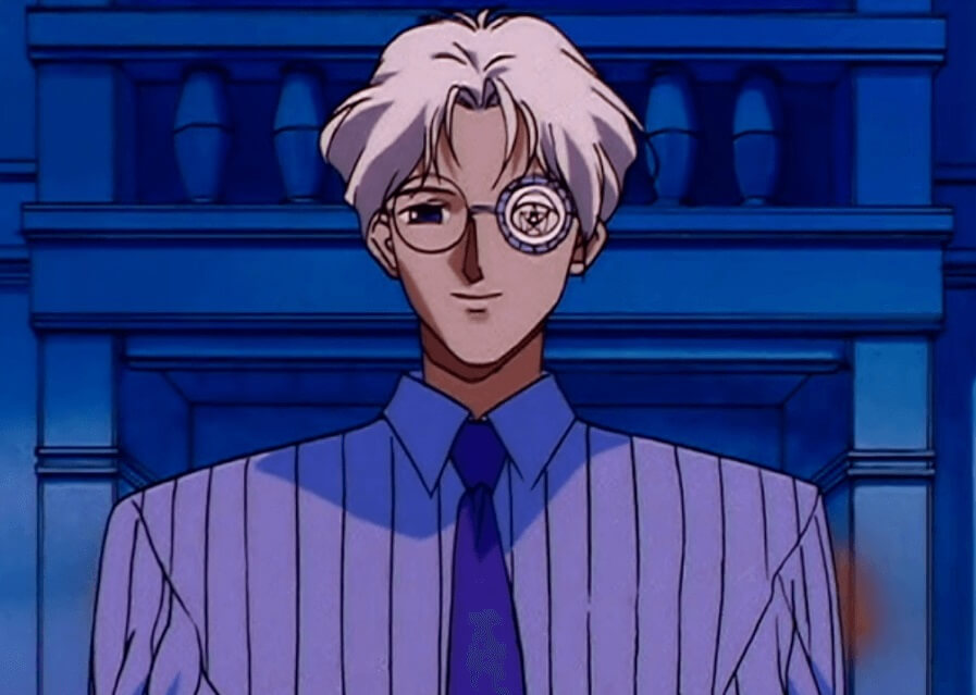 professor souichi tomoe of sailormoon